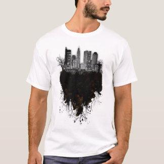 Grunge Columbus Skyscrape T-Shirt