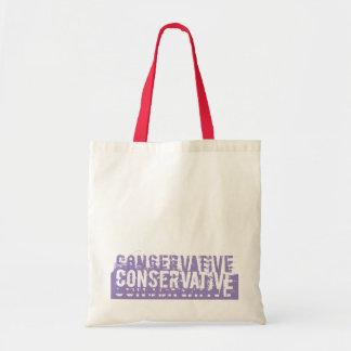 Grunge Conservative Canvas Bag