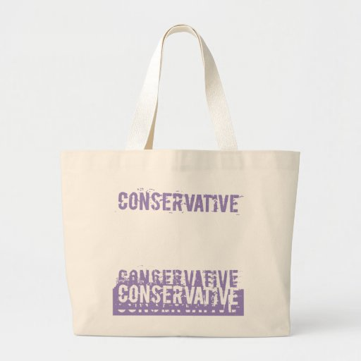 Grunge Conservative Canvas Bags