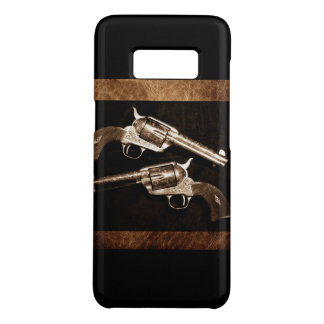 Grunge Cowboy Retro Western Country Pistols Case-Mate Samsung Galaxy S8 Case