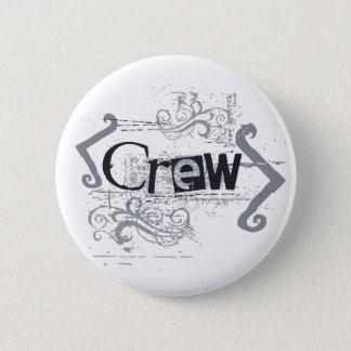 Grunge Crew 2 Inch Round Button
