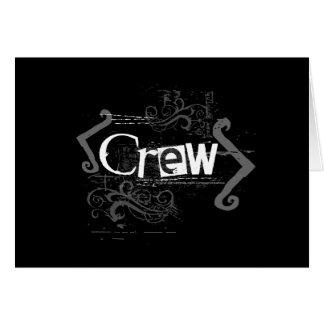 Grunge Crew Card