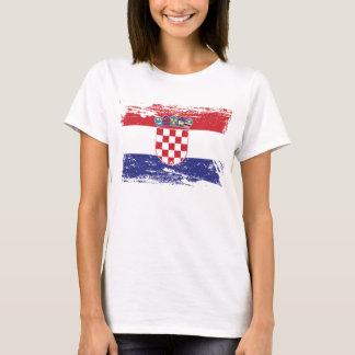 Grunge Croatia Flag T-Shirt