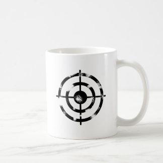 Grunge Crosshair Coffee Mug
