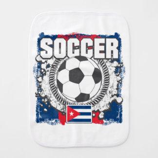 Grunge Cuba Soccer Burp Cloth