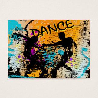 Grunge de danse - chorégraphe, danseur, cartes de visite