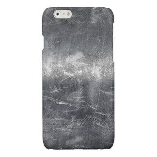 Grunge Distressed Mettalic Silver Texture Print