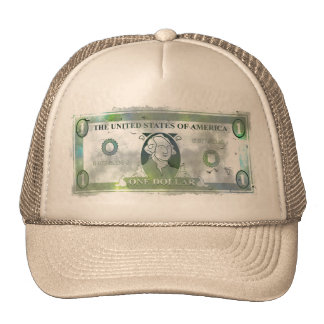 Grunge Dollar Trucker Hat