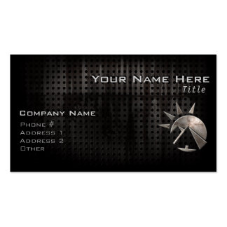 Grunge Egyptian Pyramid Pack Of Standard Business Cards