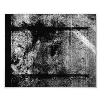 Grunge embankment photo print