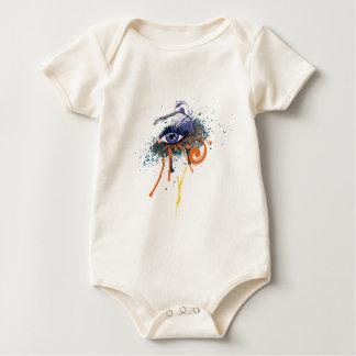 Grunge Fashion Eye Baby Bodysuit