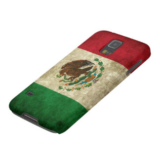 Grunge flag of Mexico Galaxy S5 Cases