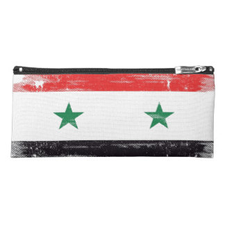 Grunge Flag of Syria. Pencil Case