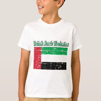 Grunge Flag of United Arab Emirates T-Shirt
