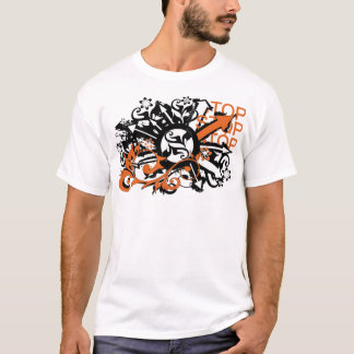 grunge floral arrows image T-Shirt