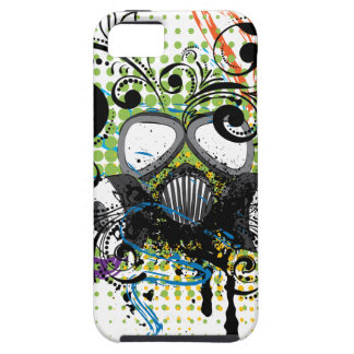 Grunge Floral Gas Mask2 Case For The iPhone 5