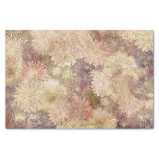 Grunge Floral Tissue Paper