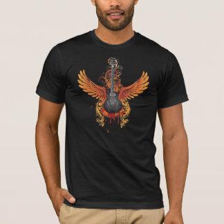 Grunge Flying Guitar shirt
