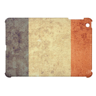 Grunge France Flag Case For The iPad Mini