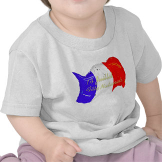 Grunge French Flag Baby T-Shirt