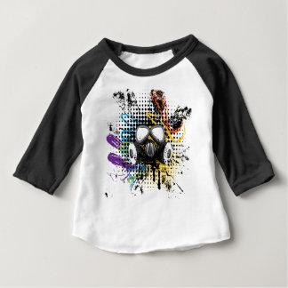 Grunge Gas Mask3 Baby T-Shirt