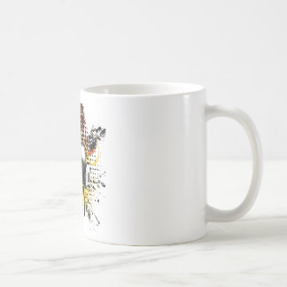 Grunge Gas Mask3 Coffee Mug