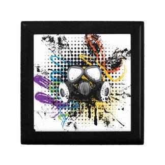 Grunge Gas Mask3 Gift Box