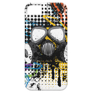 Grunge Gas Mask3 iPhone 5 Cover