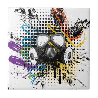 Grunge Gas Mask3 Tile