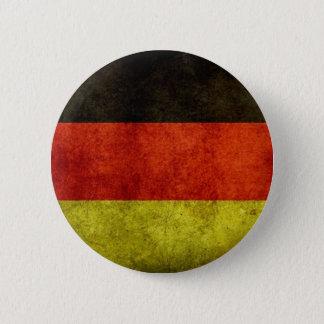 Grunge German Flag Button