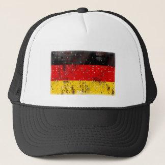 Grunge German flag Trucker Hat