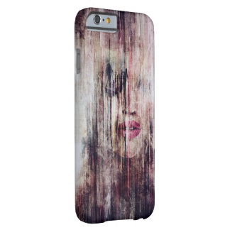 Grunge Girl Watercolor kind Iphone Case