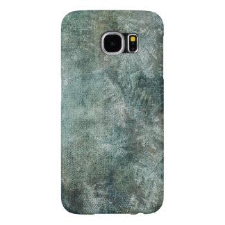 Grunge Gray Green Ice Texture Samsung Galaxy S6 Cases