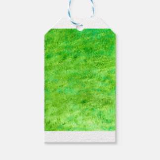 Grunge Green Background2 Gift Tags