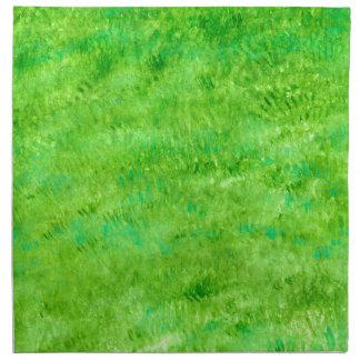 Grunge Green Background2 Napkin