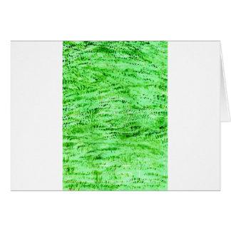 Grunge Green Background Card