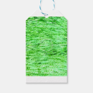 Grunge Green Background Gift Tags