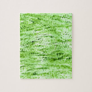 Grunge Green Background Jigsaw Puzzle