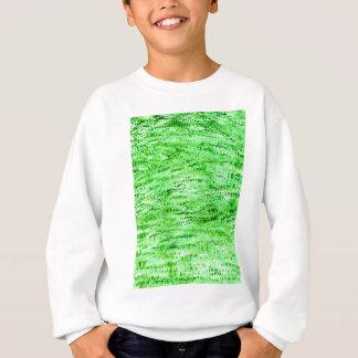 Grunge Green Background Sweatshirt