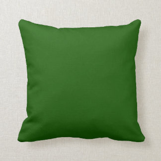 GRUNGE GREEN (solid colour) ~ Throw Pillow
