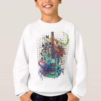 Grunge Guitar Illustration Sweatshirt