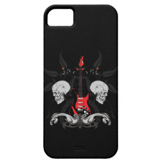 Grunge Guitar Skulls iPhone4 iPhone Case