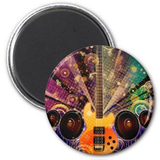Grunge Guitar with Loudspeakers 2 Magnet