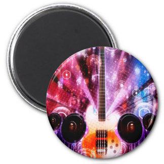 Grunge Guitar with Loudspeakers 3 Magnet