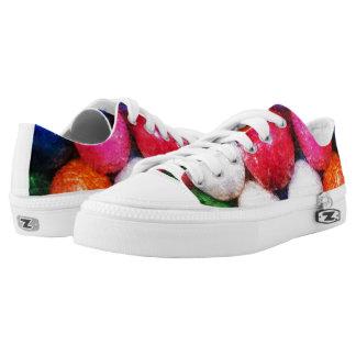 Grunge Gumballs Zipz Low Top Sneakers - Shoes