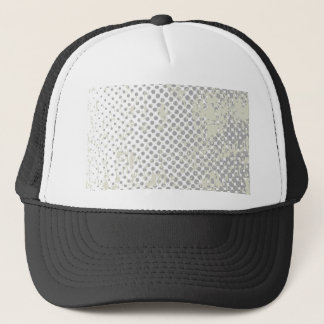Grunge Halftone Style Dot Matrix Trucker Hat
