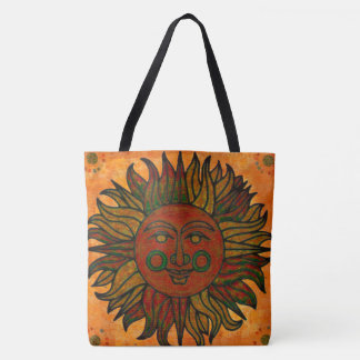 Grunge Harvest New Age Sun Tote Bag