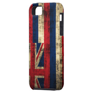 Grunge Hawaii Flag iPhone 5 Case