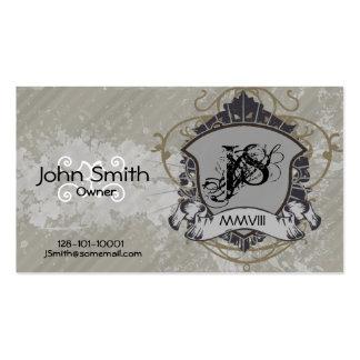 Grunge Heraldry Business Card