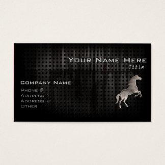 Grunge Horse Business Card